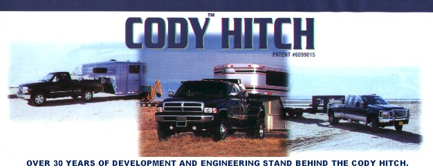 THE CODY HITCH - THE MOST VERSATILE AND CONVENIENT GOOSENECK TRAILER HITCH AVAILABLE!